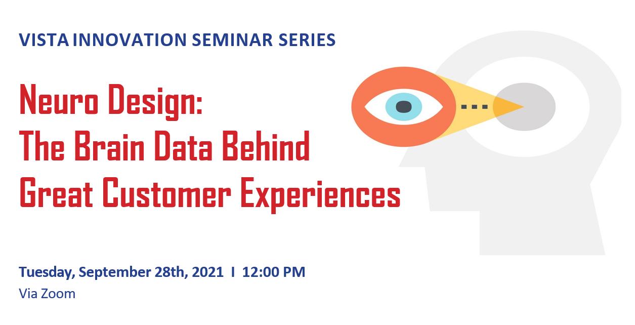 VISTA Innovation Seminar Series @ Via Zoom